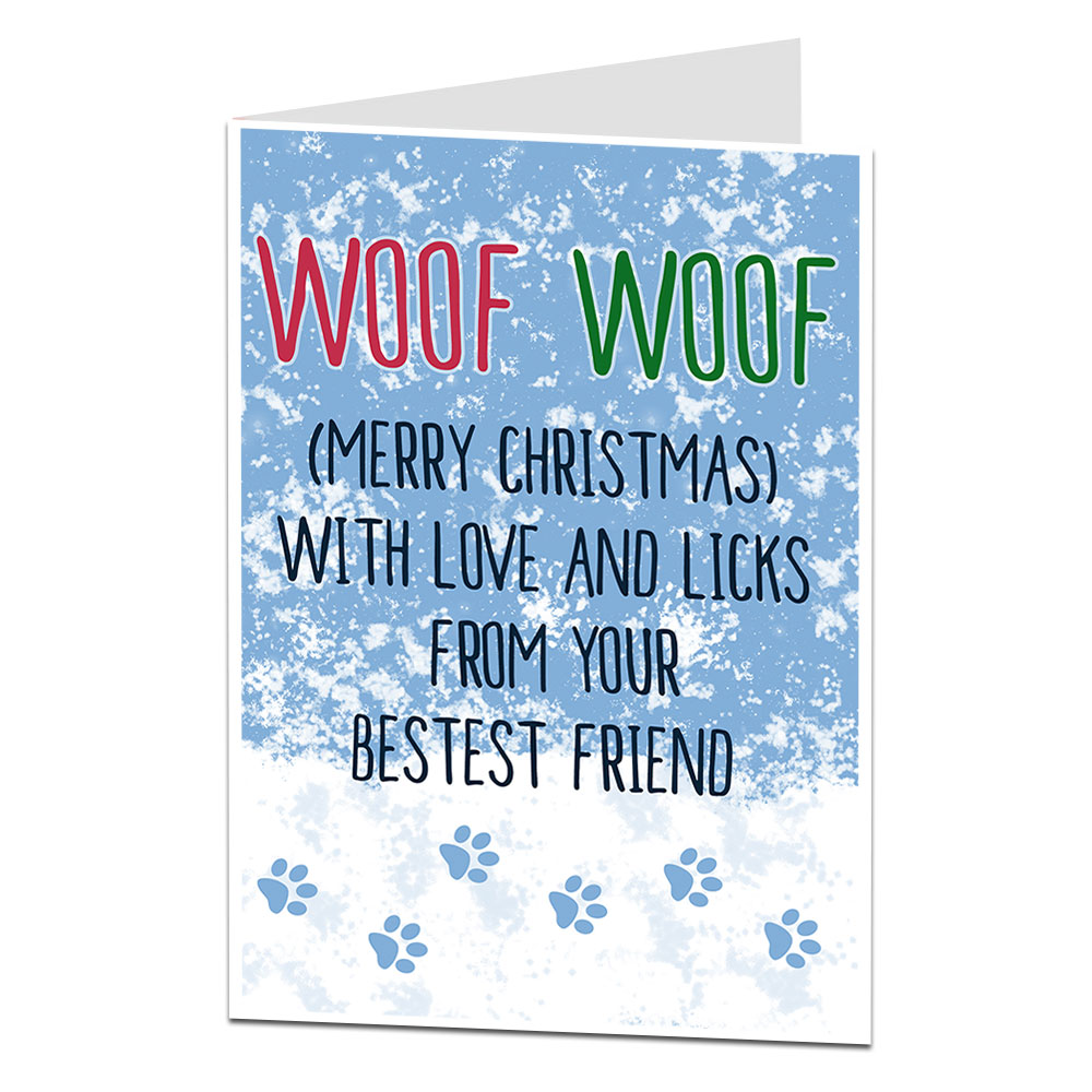Christmas Card From The Dog