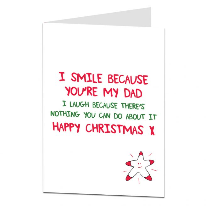 Dad Christmas Cards