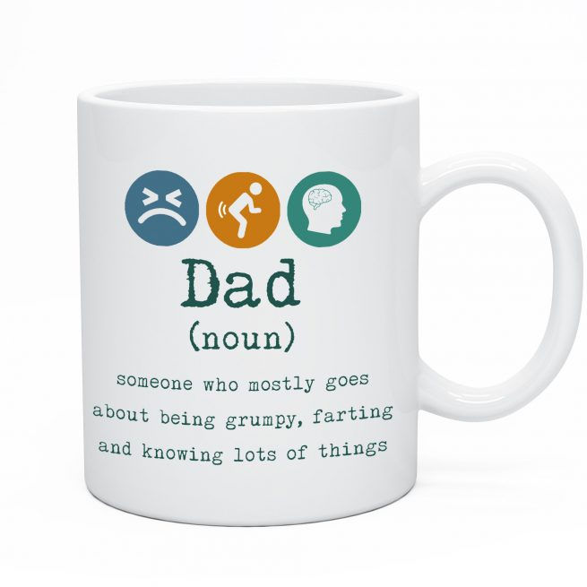 Funny Dad Tea & Coffee Mug