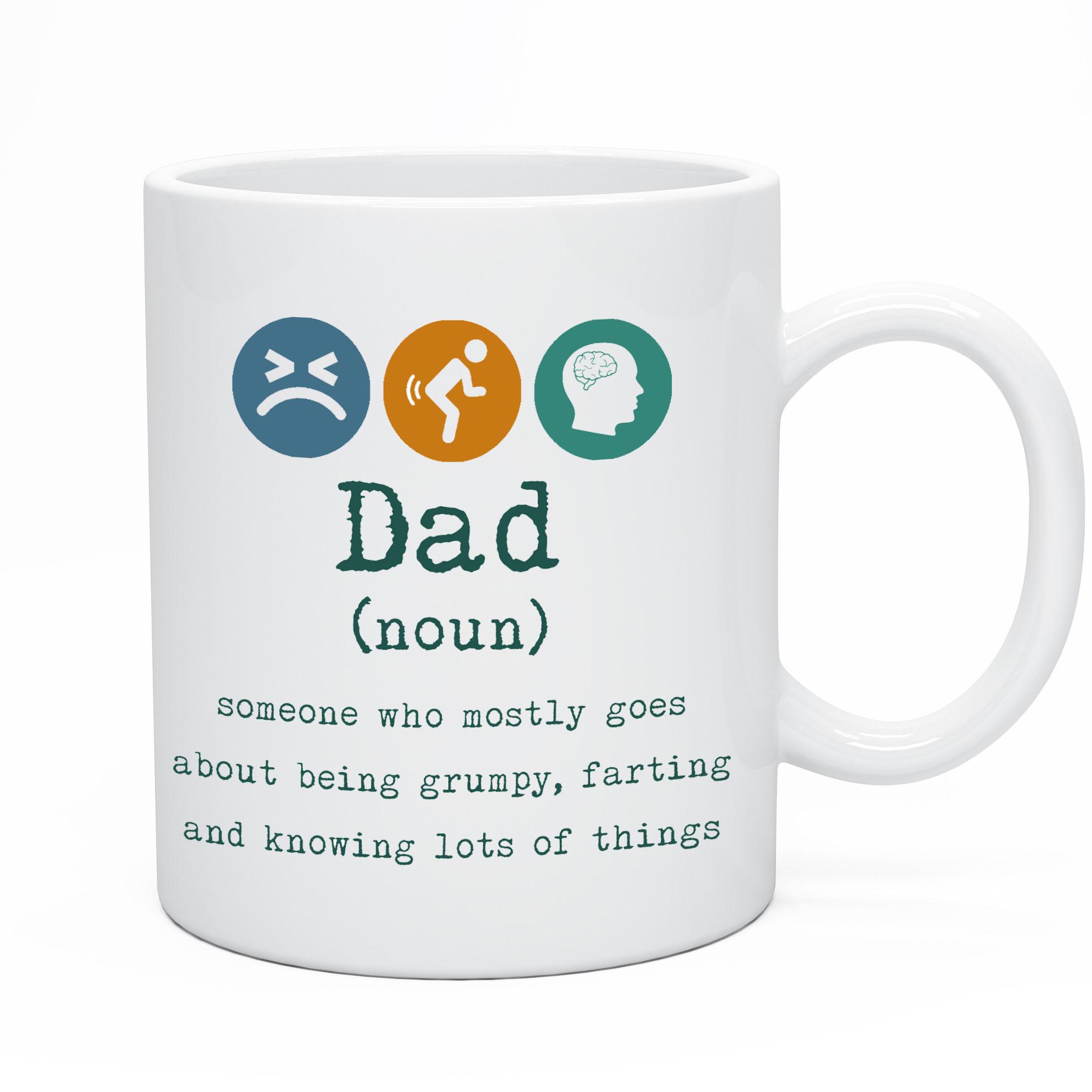 Funny Dad Tea & Coffee Mug