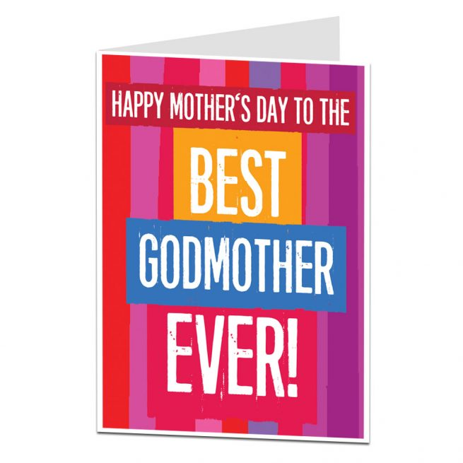 Best Godmother Mother's Day Card