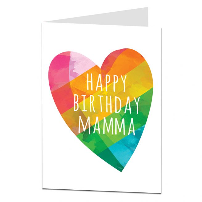 Happy Birthday Mamma Card