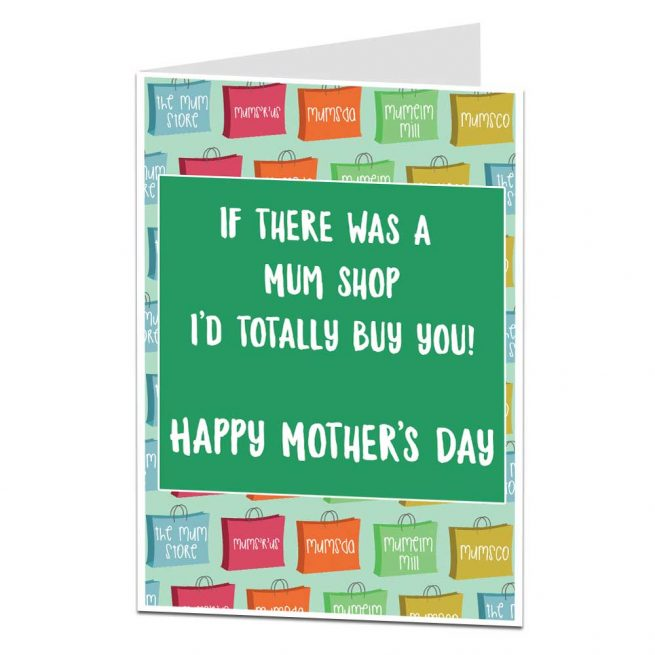 Mum Shop Mother's Day Card