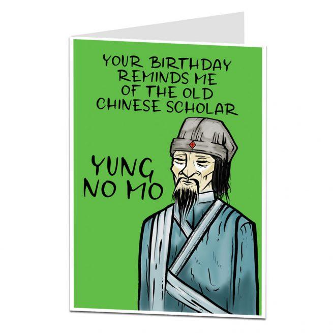 Funny Age Joke Birthday Card