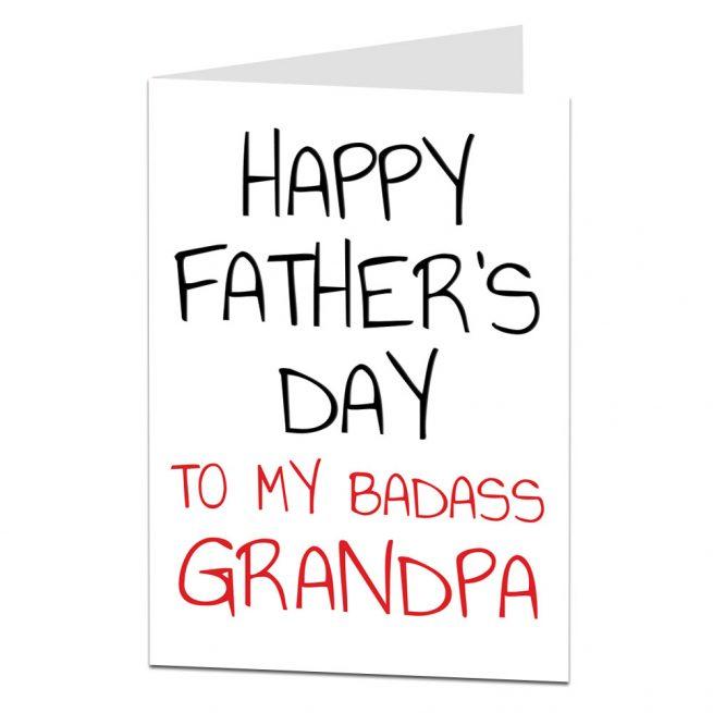 Grandpa Father's Day Card