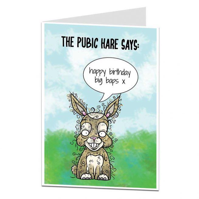 Big Baps Birthday Card