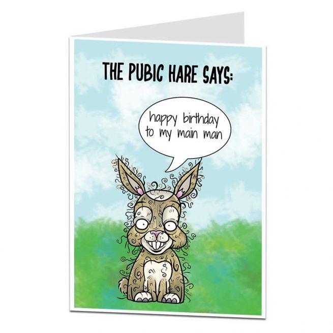 My Main Man Birthday Card