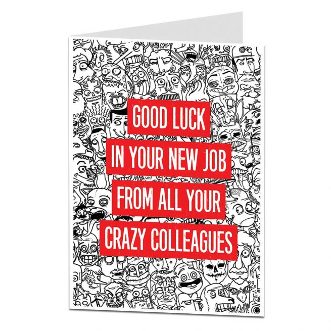 Leaving Card Crazy Colleagues