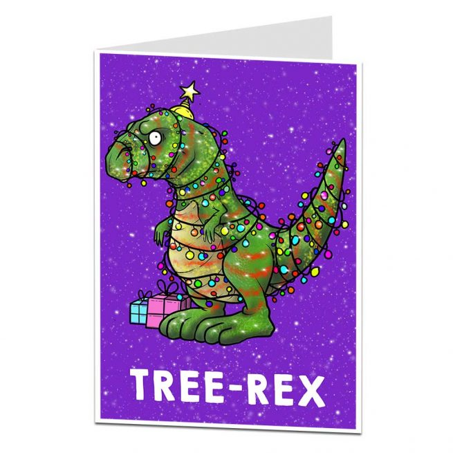 TREE-REX Christmas Card