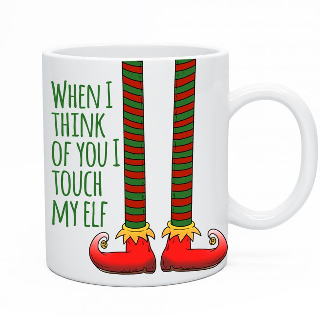 Touch My Elf Mug