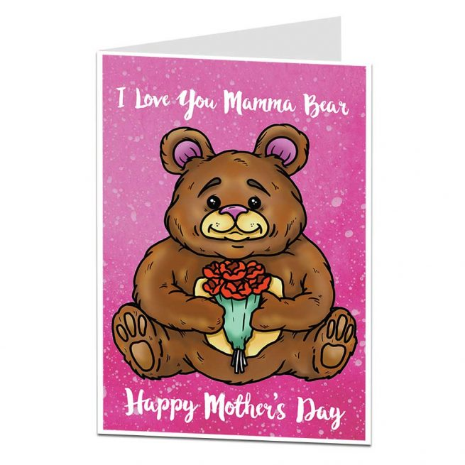 Mamma Bear Mother's Day Card
