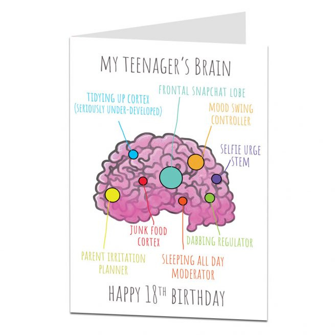 Funny 18th Birthday Card Son Daughter