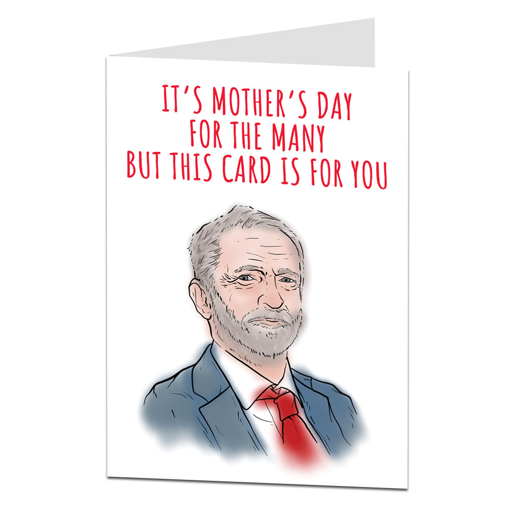 Corbyn Mother's Day Card