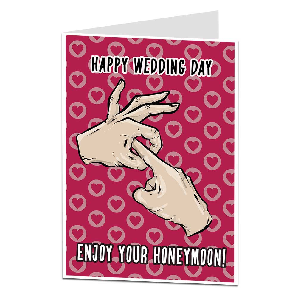 Funny Wedding Cards.Funny Silly Rude Offensive Wedding Cards