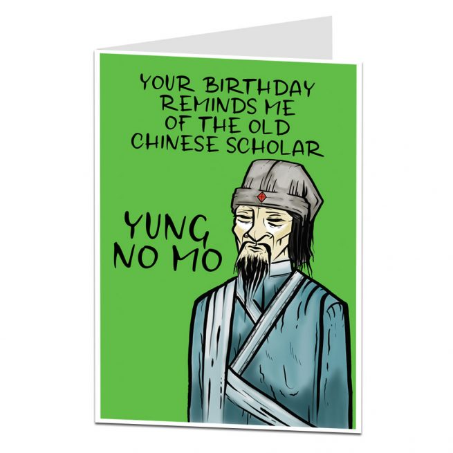 Funny Birthday Card Joke