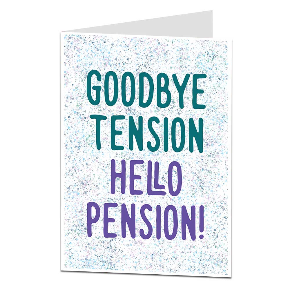 Hello Pension Retirement Card