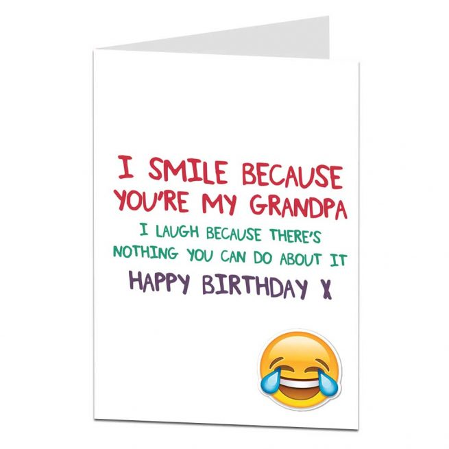 Grandad Birthday Cards