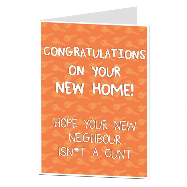 What To Write In A New Home Card Funny Silly Rude Ideas Limalima