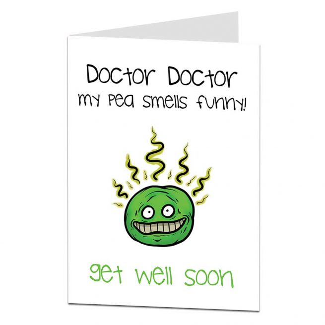 Funny Get Well Soon Card Doctor Doctor Limalimacouk
