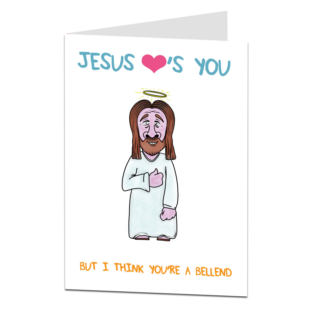 Jesus Loves You Birthday Card