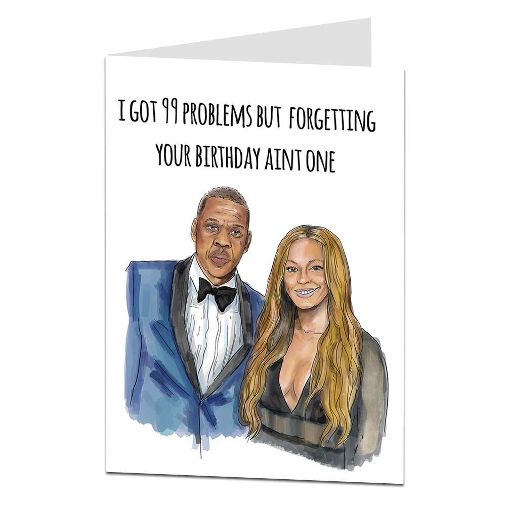 99 Problems Birthday Card