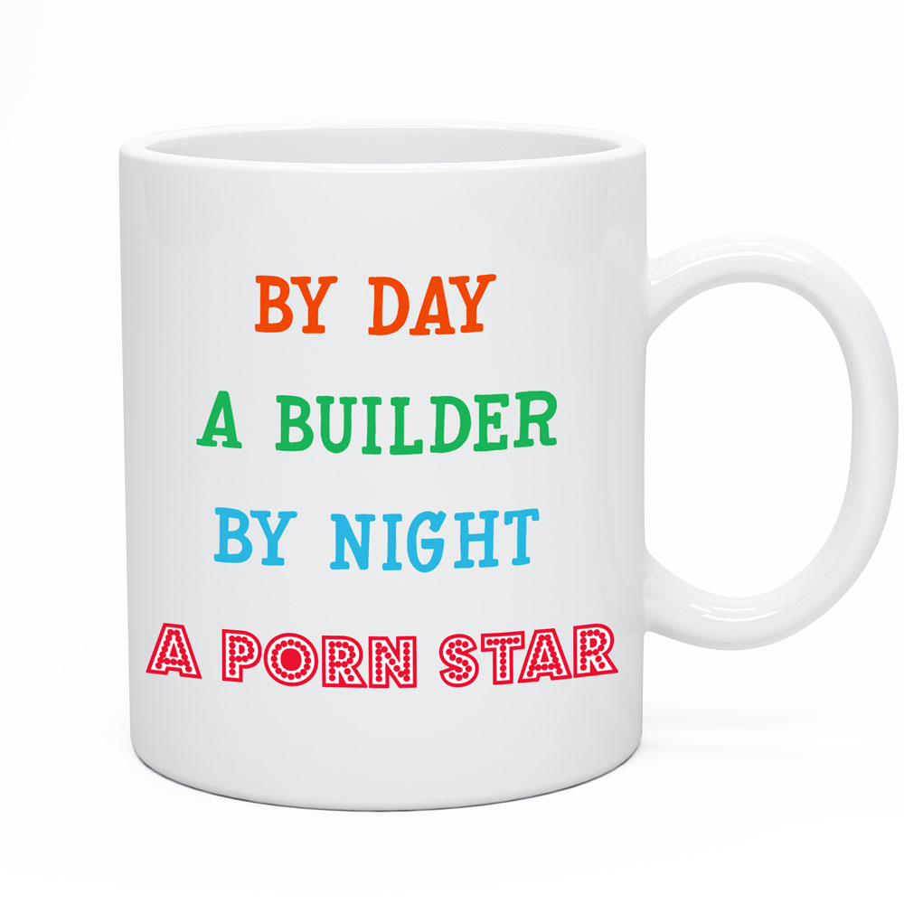 Perfect gift for husband, boyfriend who is a Builder or Porn star pretending to be a builder.