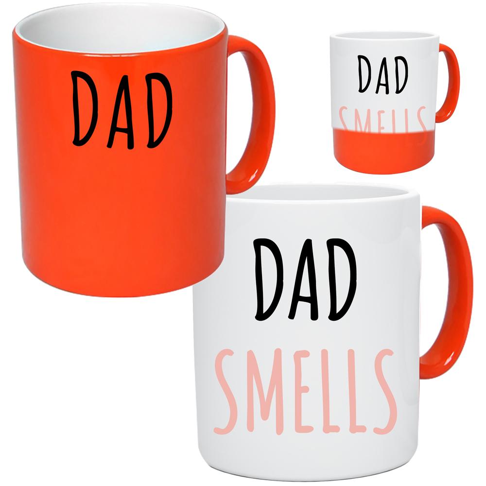 Dad Smells Colour Change Mug
