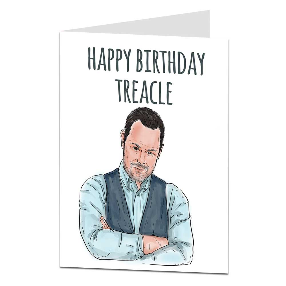 Danny Dyer Birthday Card