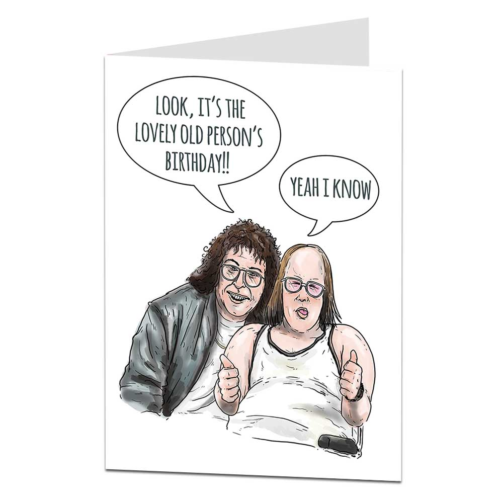 Lou And Andy Birthday Card