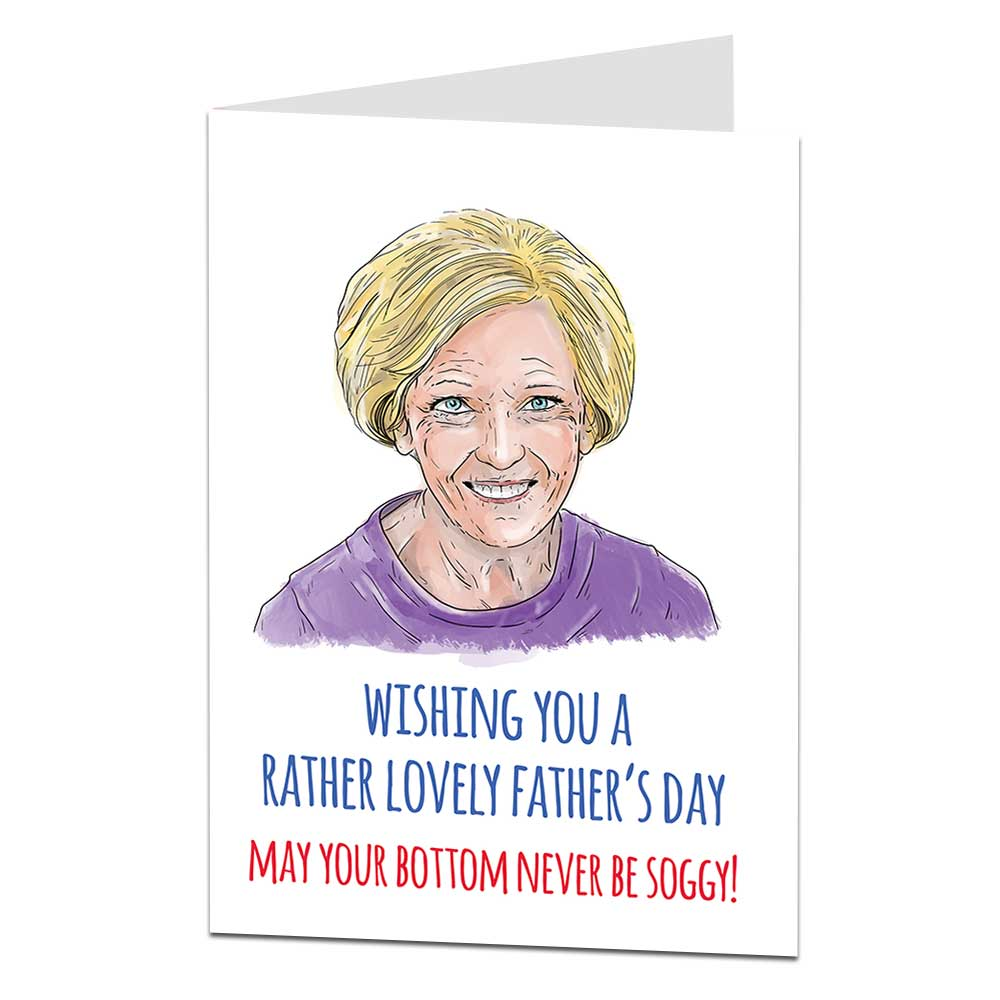 Mary Berry Father's Day Card