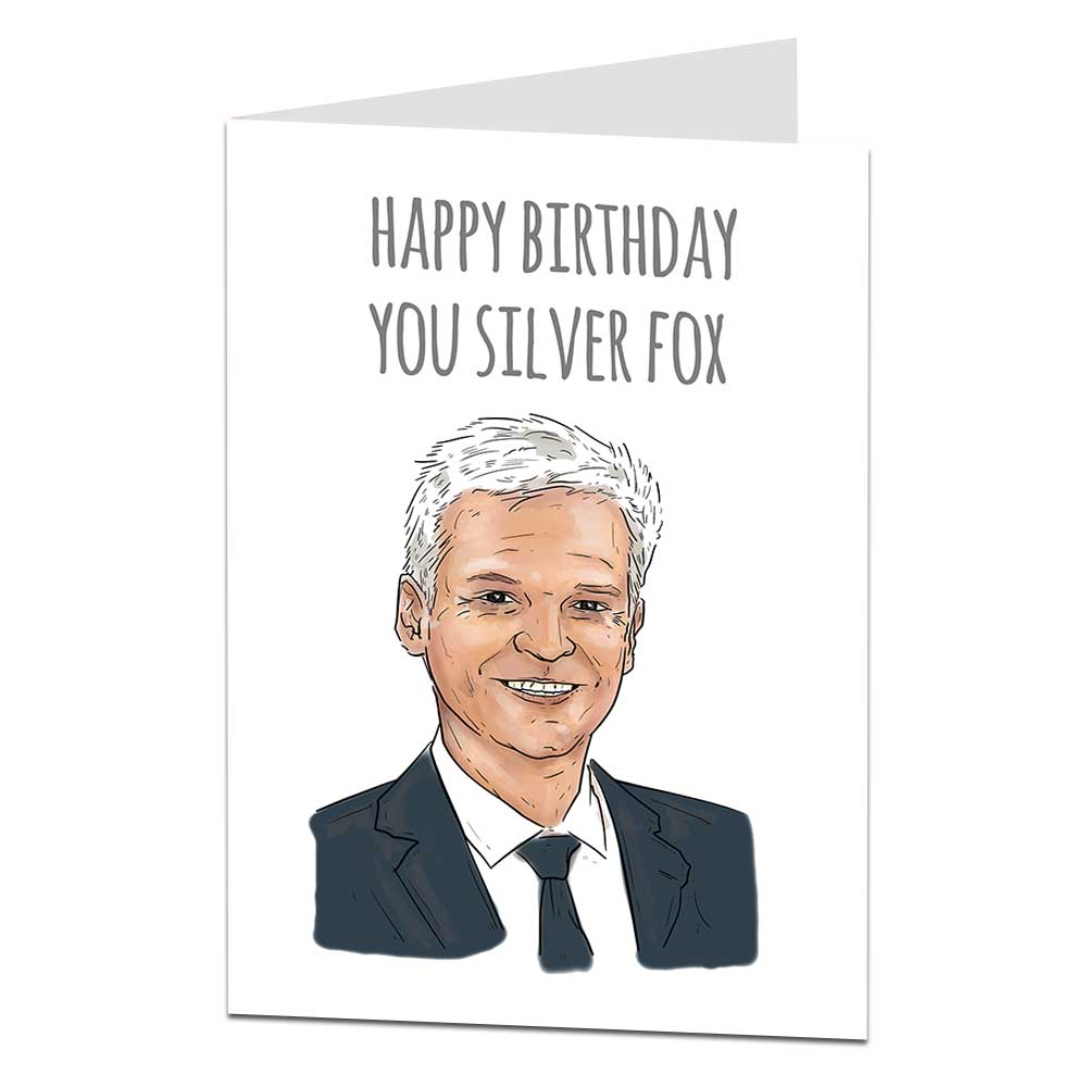 Philip Schofield Birthday Card