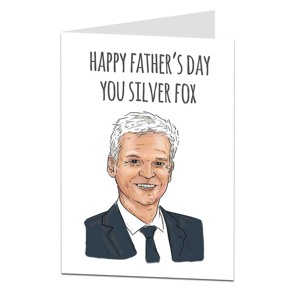 Philip Schofield Father's Day Card