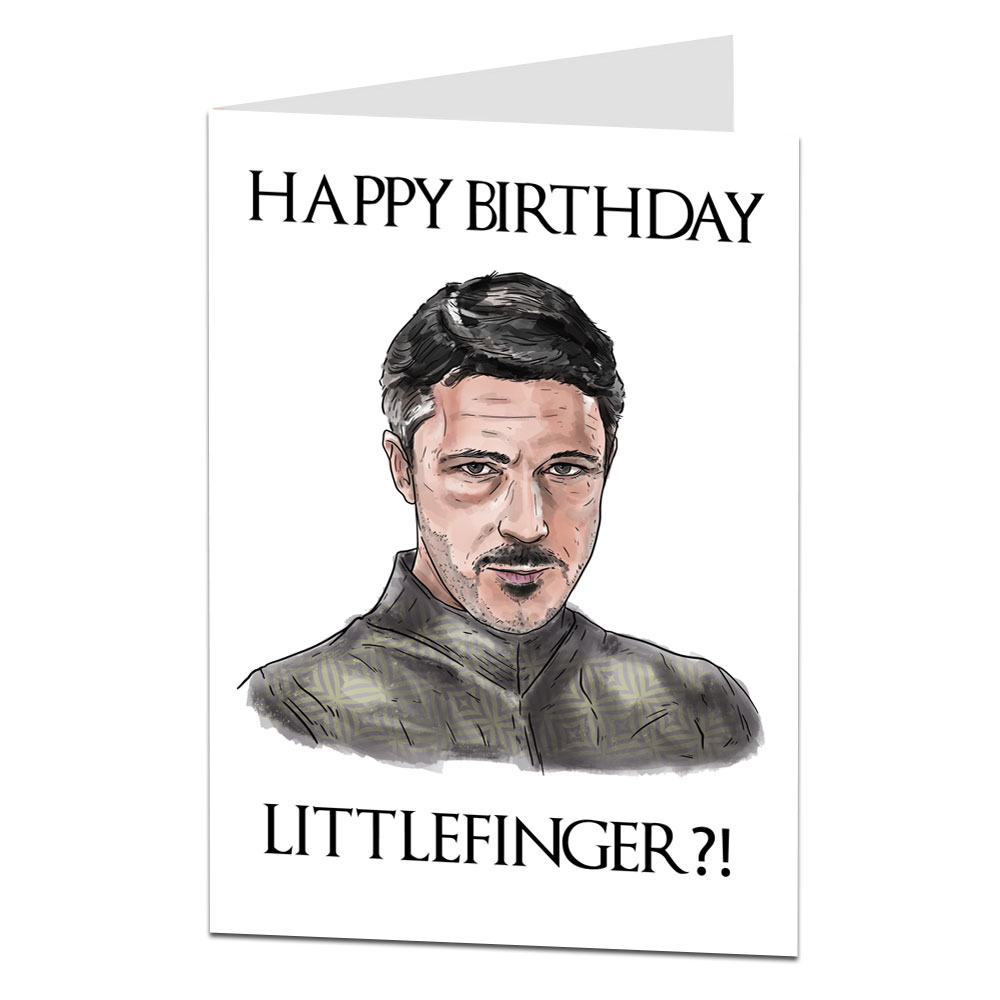 Image Of Game Of Thrones Birthday Card