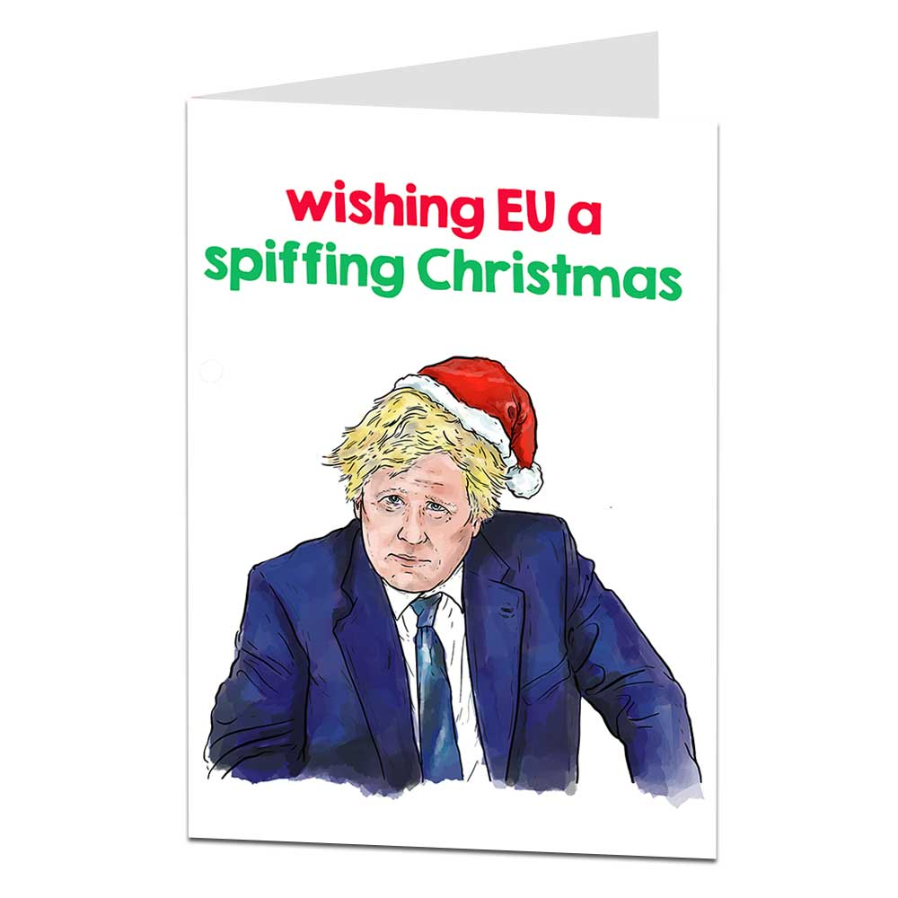 Boris Johnson Christmas Card