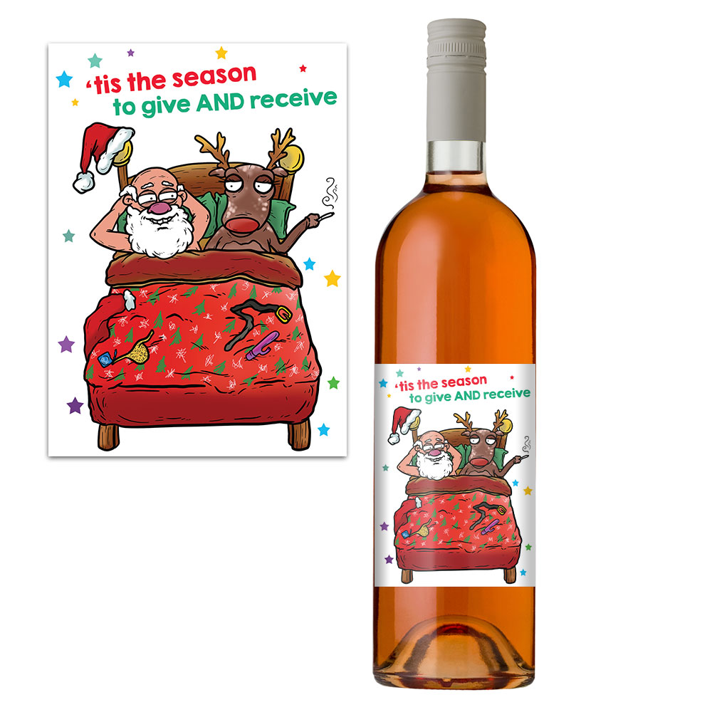 Give And Receive Wine Label