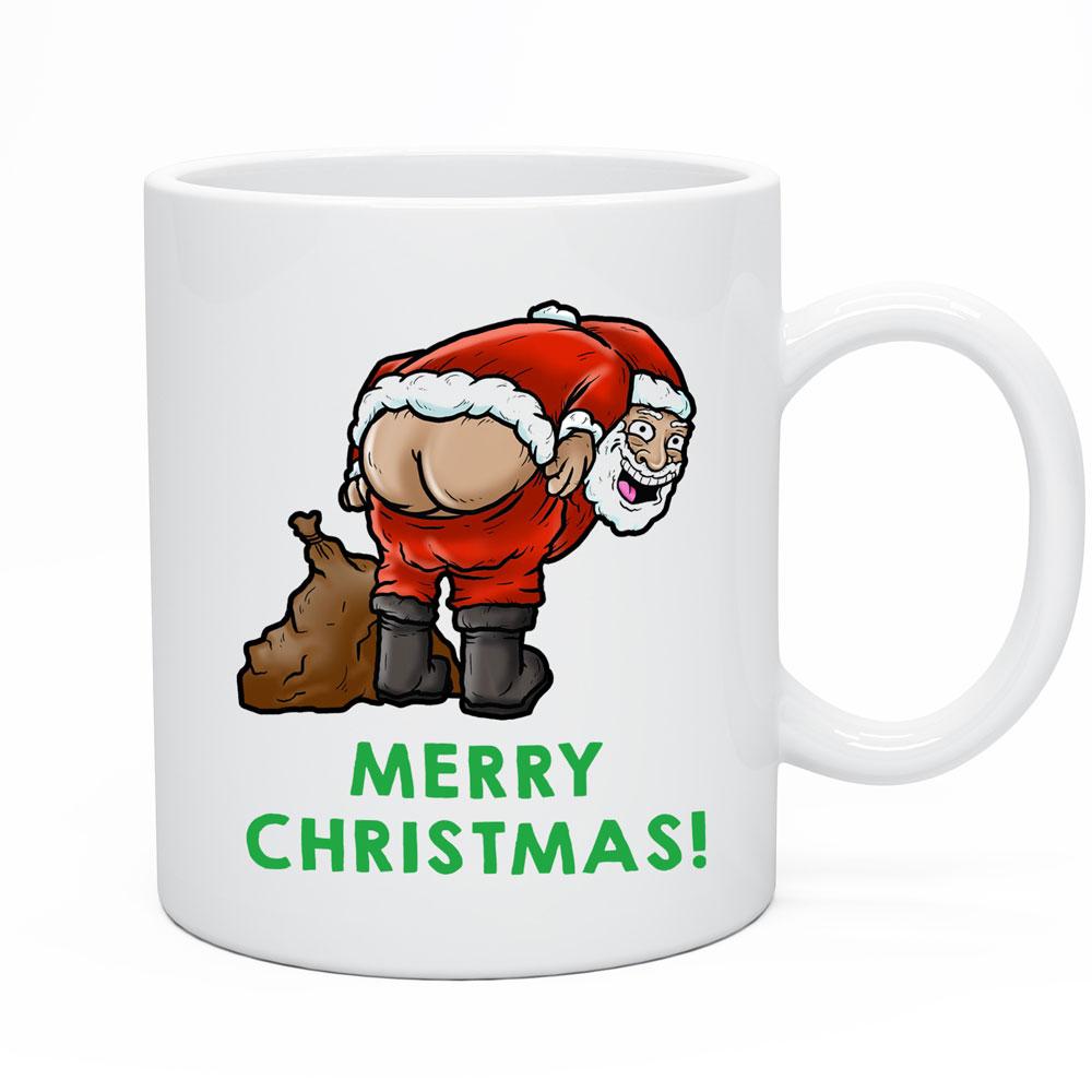 Rude Christmas Coffee Cup Secret Santa Gift