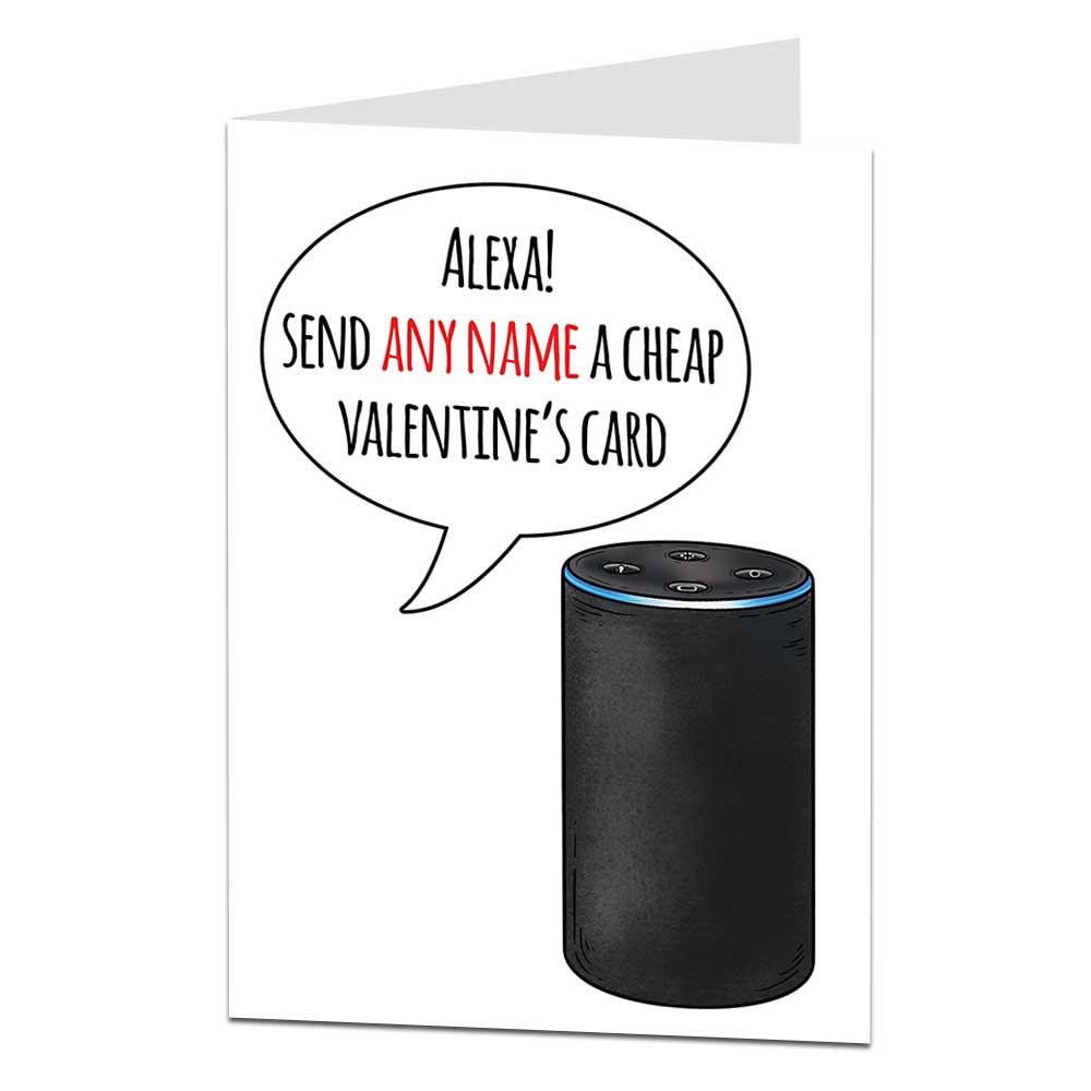 Alexa Valentines Card