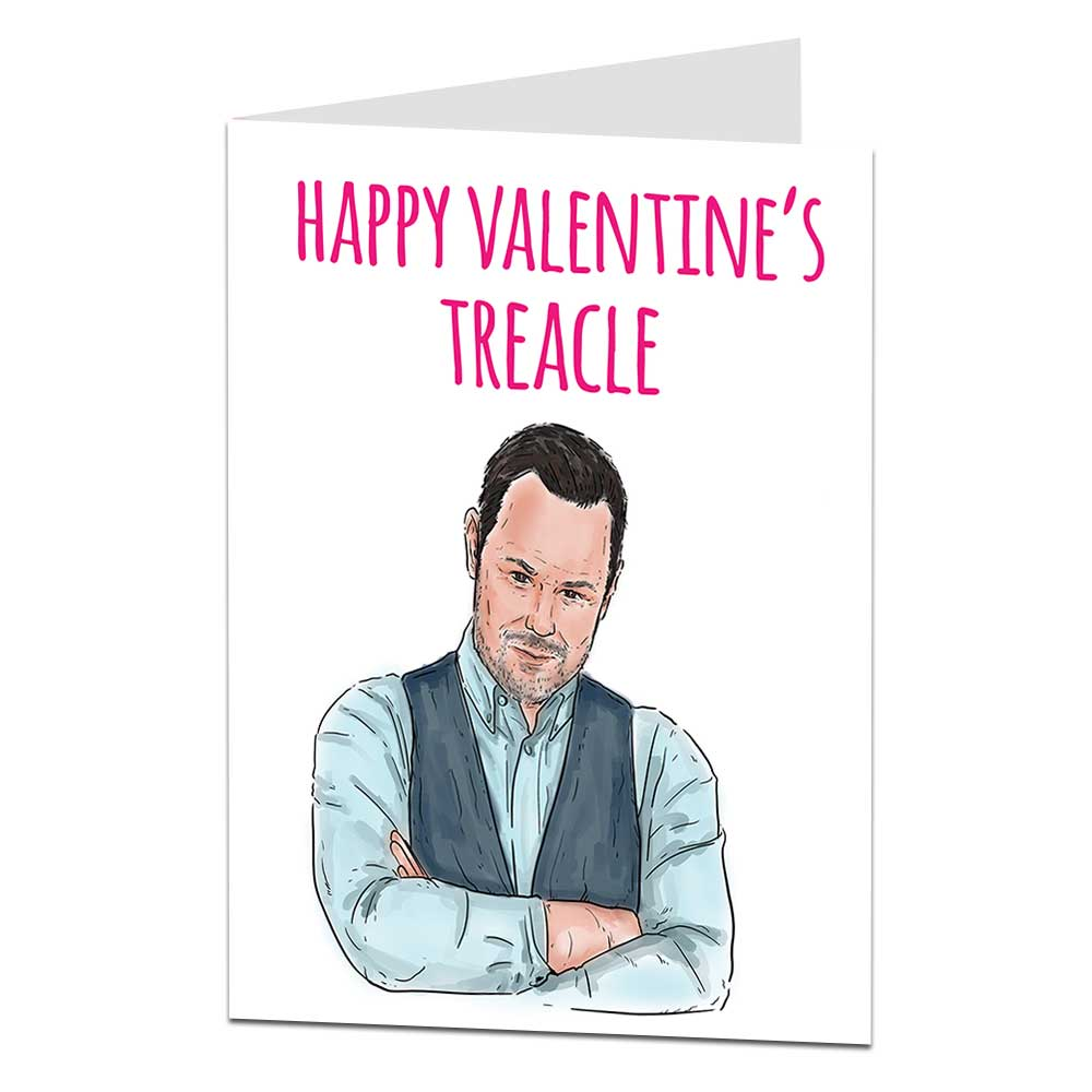 Danny Dyer Valentine's Card