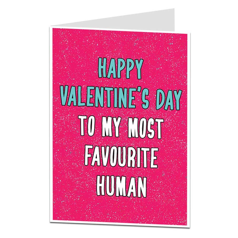 Favourite Human Valentine's Card