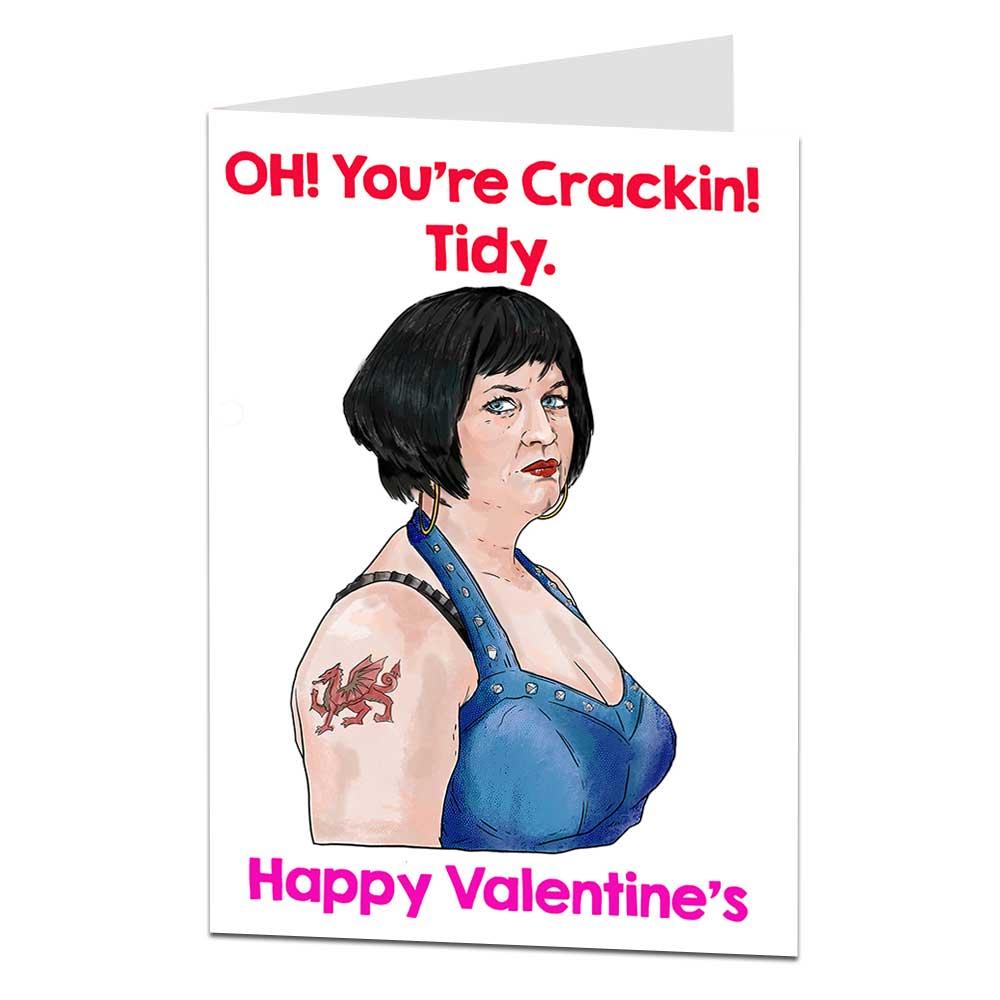 Nessa Gavin & Stacey Valentine's Day Card