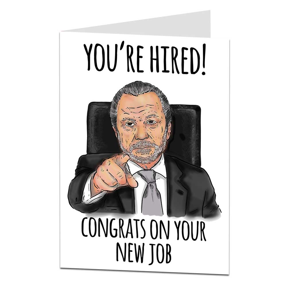 Alan Sugar Leaving Card