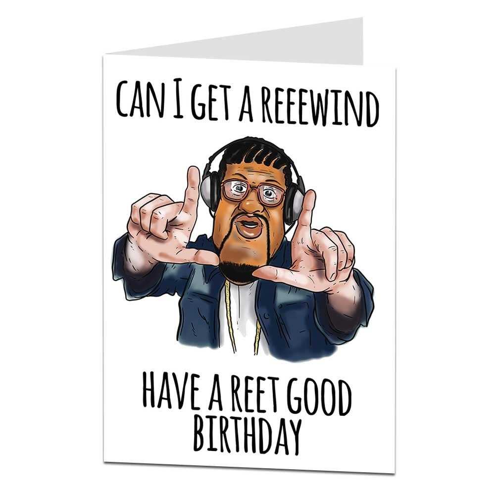 Bo Selecta Craig David Birthday Card