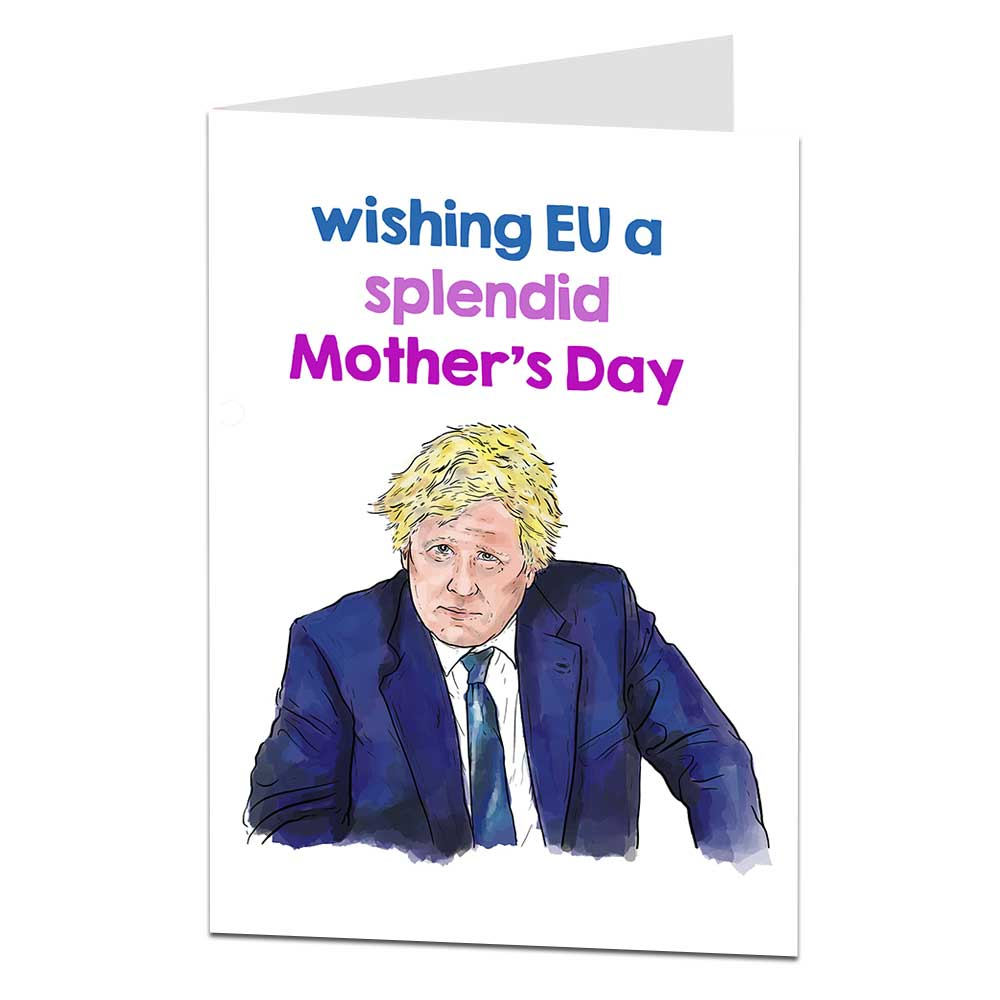 Boris Johnson Mother's Day Card