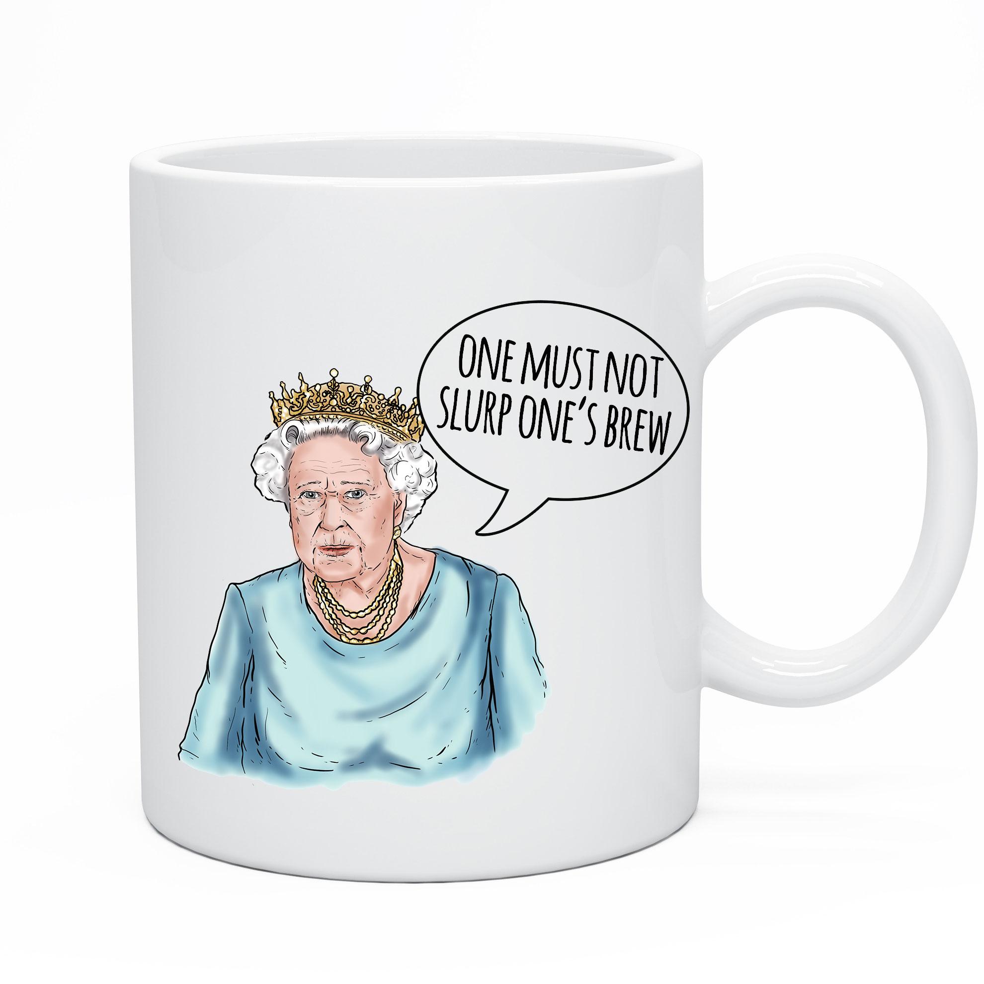 Funny Royal The Queen Mug