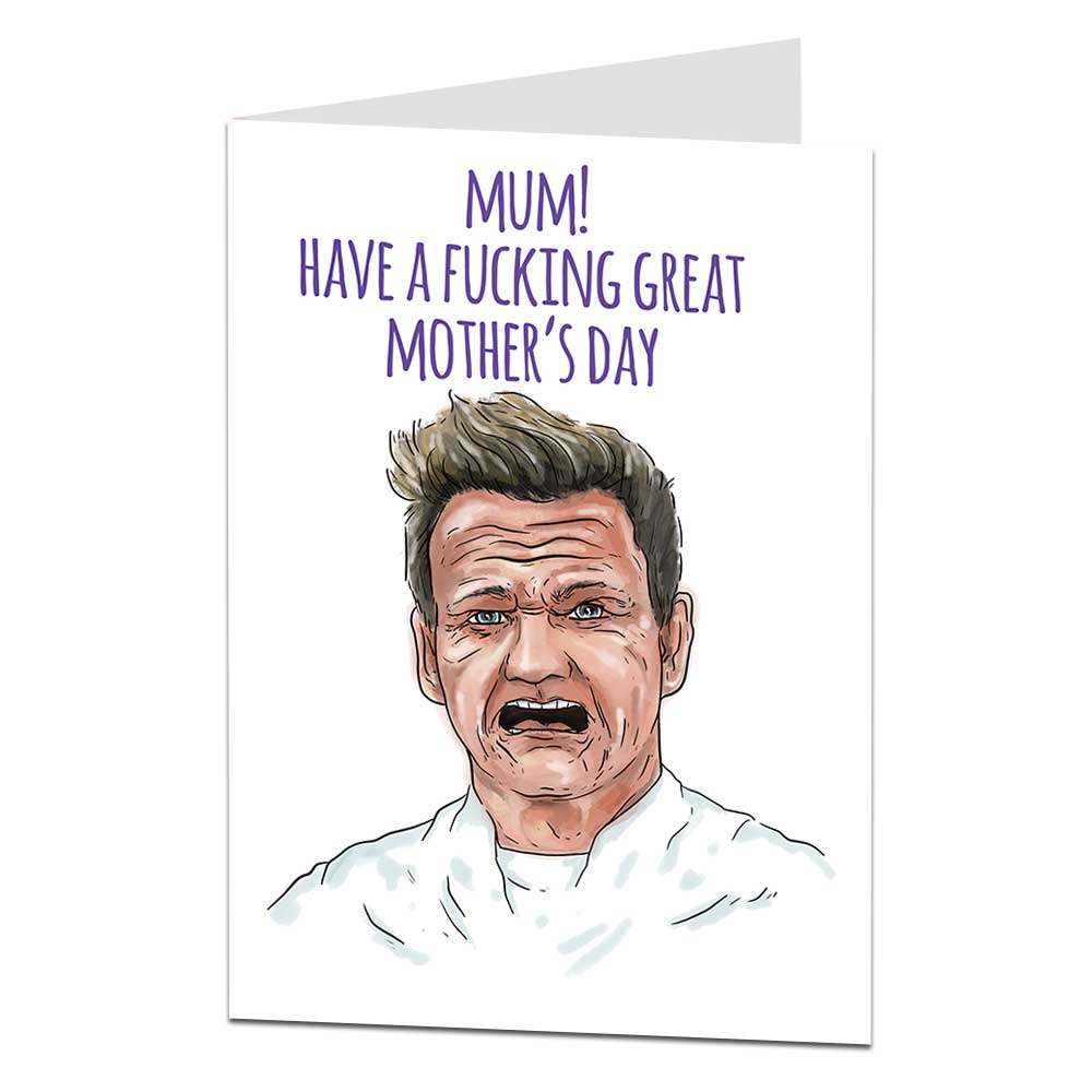 Gordon Ramsay Mothers Day Card