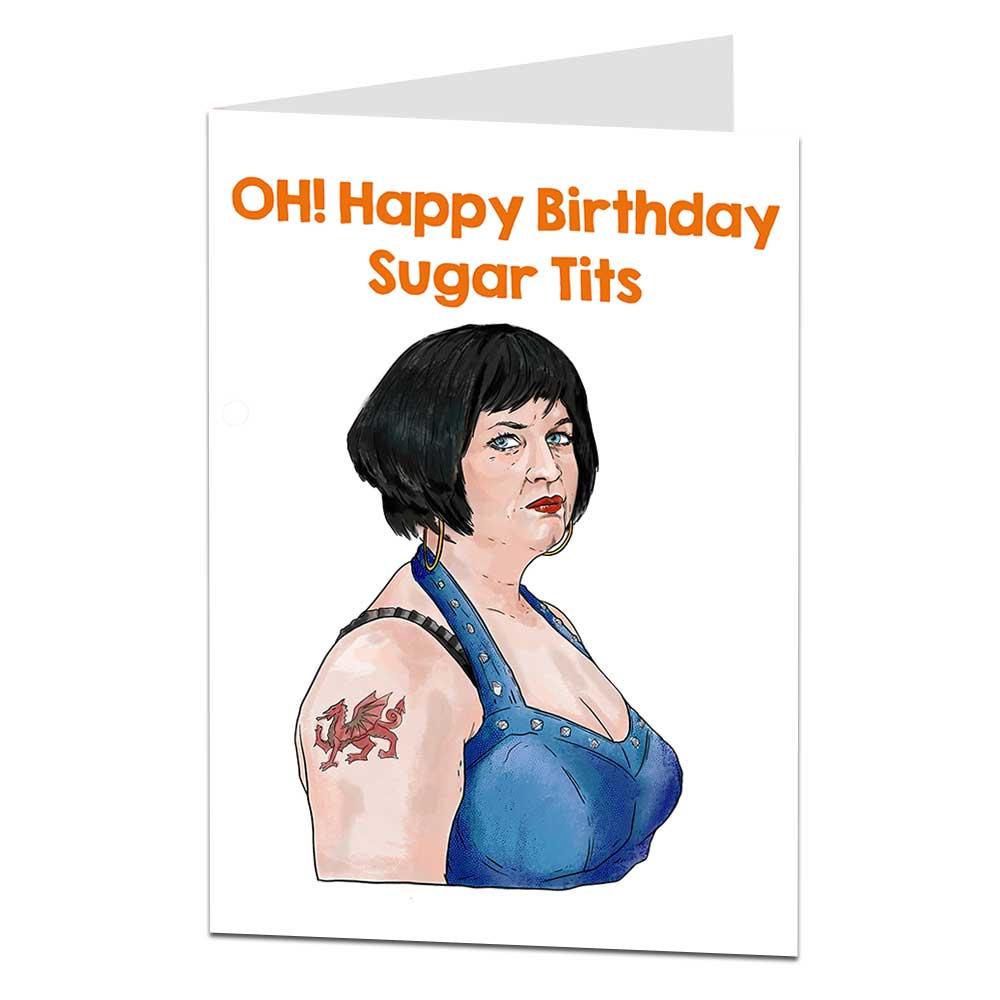 Nessa Birthday Card