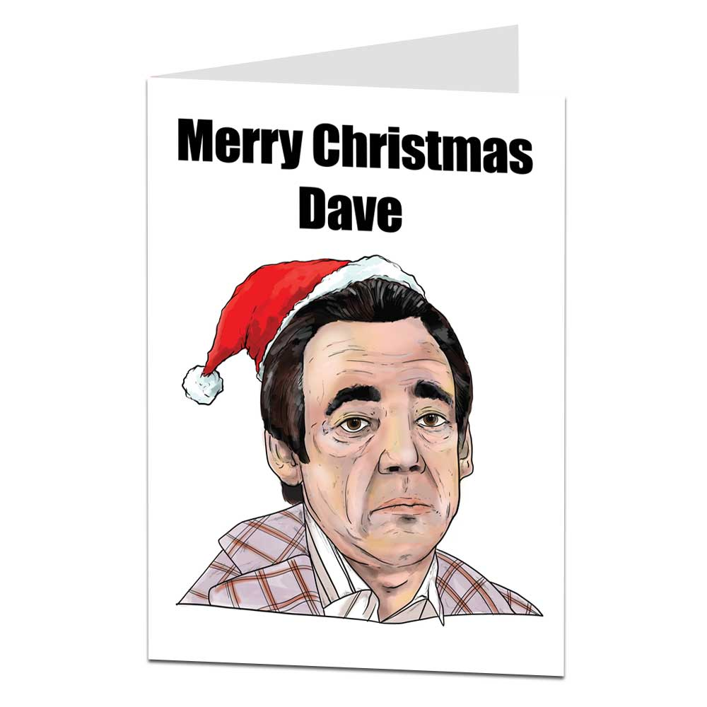 Merry Christmas Dave Card