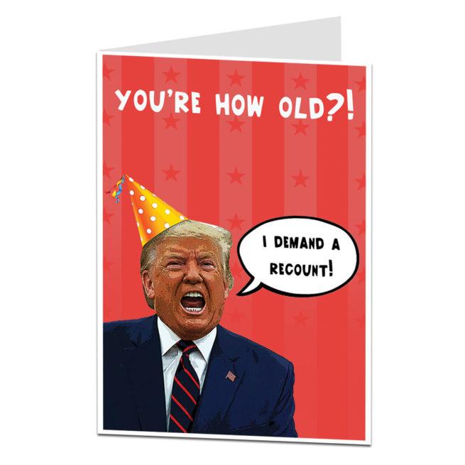 Trump Demand A Recount
