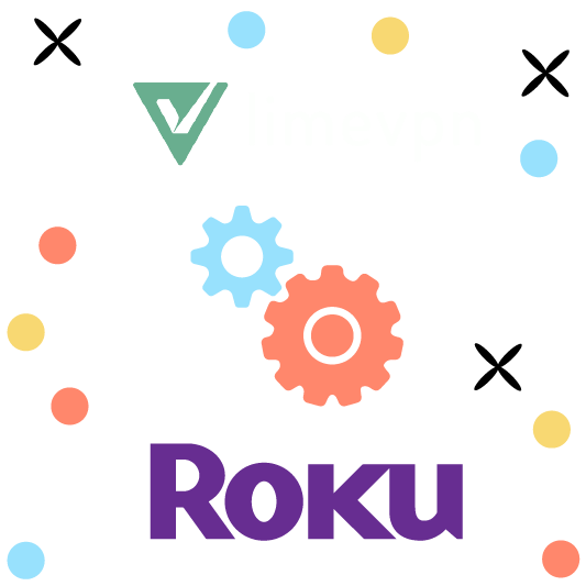 set vpn roku