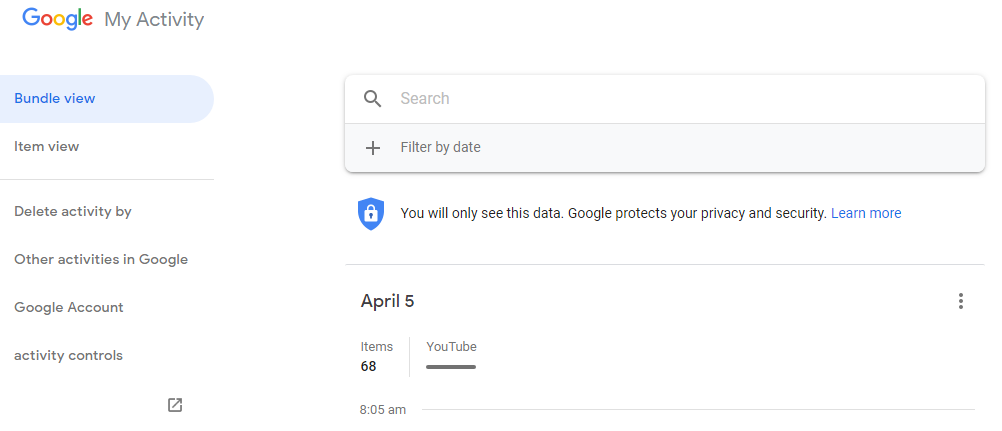 Block Google from tracking your every step